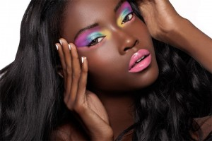 Monica Escalante: Professional Hair and Make-Up Services - Vibrant Mood Shoot